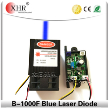 XHR cheap mini laser diode single bule color 445nm laser diode 1w