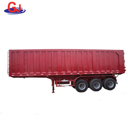 Good quality 40ton Tri-axles box truck trailer