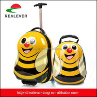 Small Suitcase Set Cute Cartoon ABS