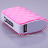 external usb safety power charger bank 5000mAh portable power pack/mobile power pack/power pack