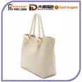 Natural Color Cotton Tote Bag