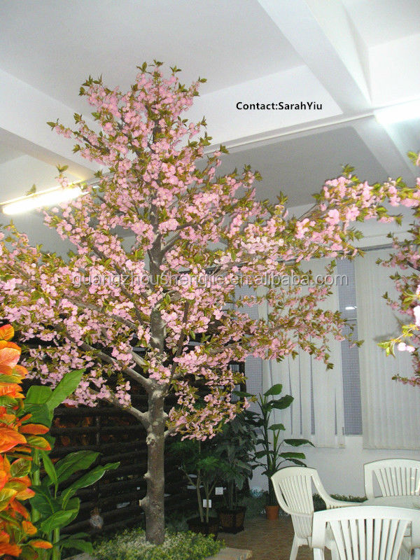 artificial plant/artificial plants and trees/china artificial fake flowers trees pink cherry blossom trees