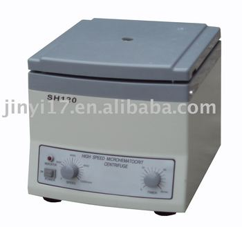 SH120 Benchtop High Speed Medical Hematocrit Machine