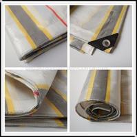 Heavy Duty Polyester Fabric Tarps Waterproof Tarpaulin