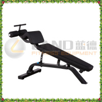 2016 LAND FITNESS equipment/Gym use Adjustable abdominal trainer