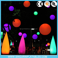 LED Inflatable Lighting Tusk,Inflatable Tusks For Party/Wedding/Festival