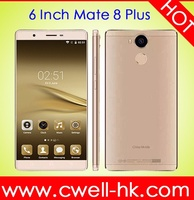 Android 3G smartphone Mate 8 Plus 6 Inch Big Screen Dual Sim mobile phones