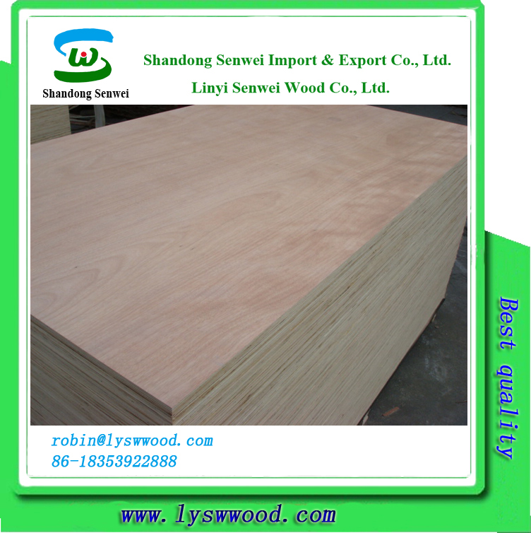 lowest price of plywood okoume face veneer manufacturers/ film faced plywood