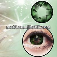 Green big big eyes free color contacts cheap eyewear/Sparkle Color contacts