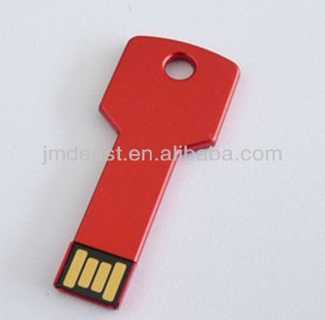 bulk buy 100% full capacity 1-64 gb metal key shape usb flash drive free logo imprint
