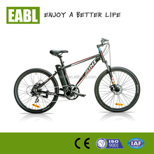 China made strong motor Mountain Electric Bike With Disc Brake