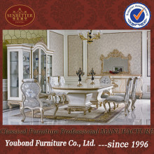 0067 European neo-classical design; luxury wooden diningroom furniture set