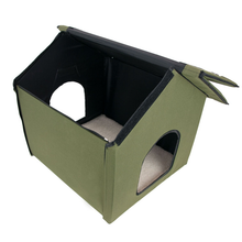 New Outdoor Folding Heated Cat Dog Pet Carry House