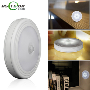 2018 Smart Auto On/Off Battery Operated sensor lamps led PIR sensor night light for indoor lighting