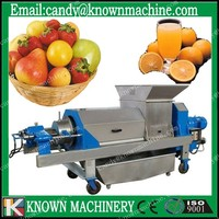 known hydraulic double screw fruits and vegetables dehydration machines