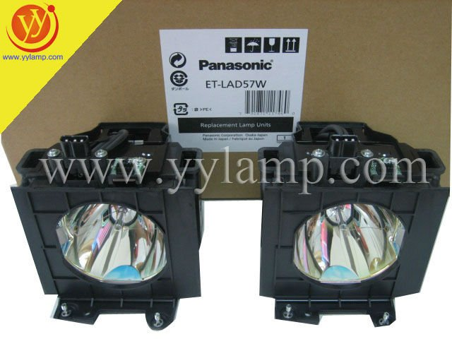 Porjector ET-LAD57W lamp for Panasonic PT-DW5100