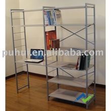 morden combination bookcase with laptop desk