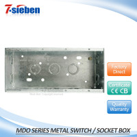 New arrival cheap price and best selling customize metal type switch box