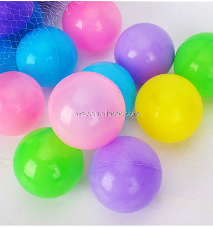 High quality light weight hollow colorful plastic balls