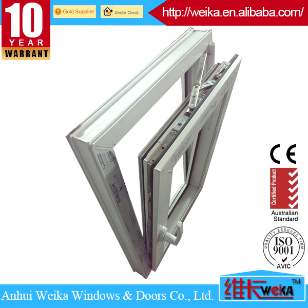 New modern with certificate upvc window manufactures