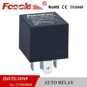 automotive spare part jd1914 car auto relay 12v 5 pins