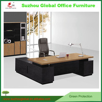 simple L-type table information table cheap furniture