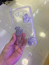 Good market product tpu glitter protective mobile phone case for iphone5/6 plus for samsung