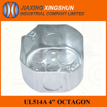 HIGH QUALITY UL octagon electrical distribution box size
