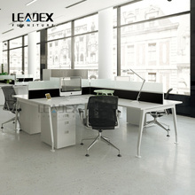 2016 Fancy office tables and chairs set office desk modern glass top office desk