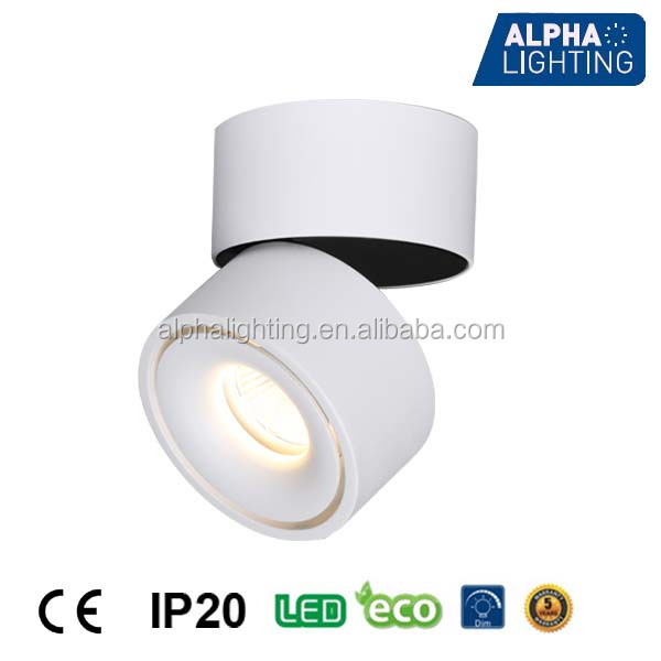 High quality adjustable 13W 3000k 4000k spot lights led ceiling downlight