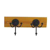 Decorative Metal Wood Coat Hat Cloth Small Wall Hooks with Heavy Duty Hanger Hook L0008
