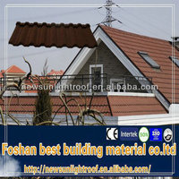 curved metal roofing sheet/high quality roof waterproofing sheet roofing sheet/stonecoated metal roof tiles