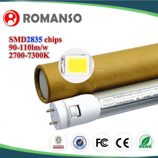 High Power LED portable detachable High Performance Straight Tube T8