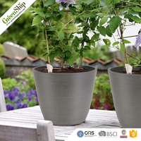 Hot sale home decoration cheap plastic plant flower pots from China