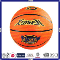 made in China hot sell promotional customized logo basketball in bulk