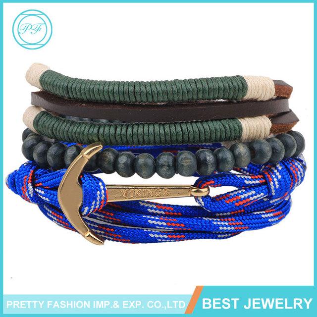 Yiwu Korean Retro Fashion Wooden Bead Bracelet For Men Jewelry