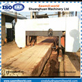 Top Quality horizontal Wood cutting used band saw machine for sale