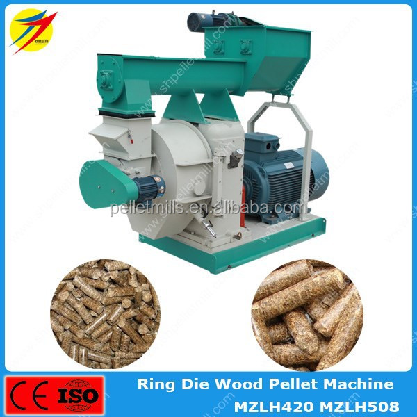 High quality wood biomass sawdust pellet mill machine for burning stove