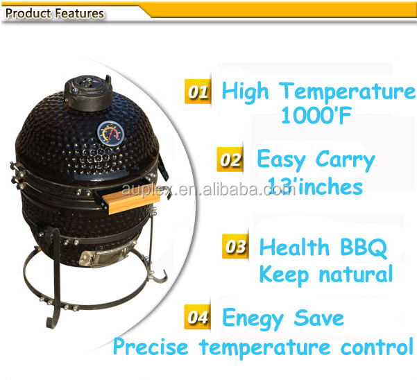 Royal Mini Charcoal Barbecue BBQ Grill Smoker