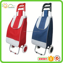 Folding shopping trolley cart best selling travel bag set