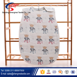 factory cute 100 cotton kids sleeping bag made in China