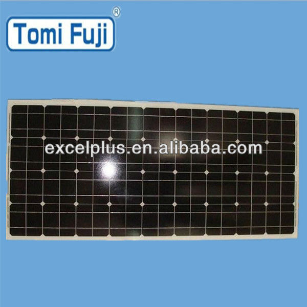 Solar energy PV 100w mono solar module with TUV UL certificate