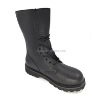 Wholesale Army Black Leather Customized Logo