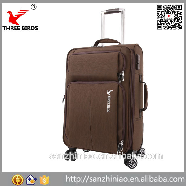 Online shopping sky travel vintage dencent eminent rolling black wheels parts cheap trolley travel luggage bag suitcase