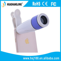 New products practical colorful 12x telesphoto lens camera lens cover for mobile phone