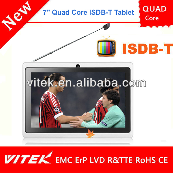 Best Selling 7 inch TV Tab Android Tablet DVB-T2