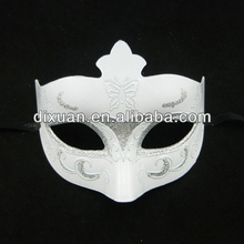 Half Face White Mask Party plating Venetian Masquerade Masks