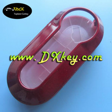 Red Color car key covers for key fiat 500 Fiat color blank key