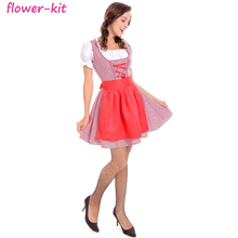 New Style Cosplay Cute Maid Costume Dress Adult Shop Pink French Maid Dress