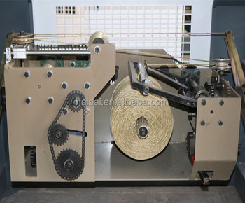 High quality 6 8 inch spool winding machine for pp raffia baler twine / Pp flat film yarn / blown film yarn